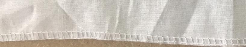 Белая обтирочная х/б салфетка 40х40
